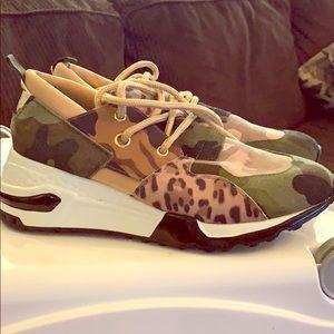 Camo & Leopard Sneakers